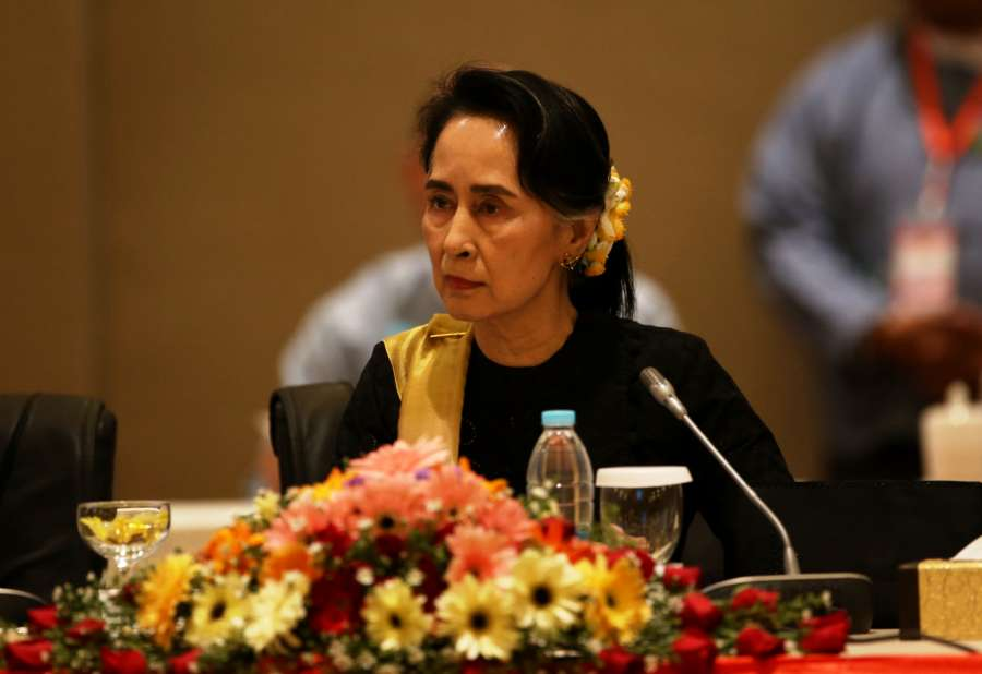 MYANMAR-NAY PYI TAW-UPDJC-MEETING by .