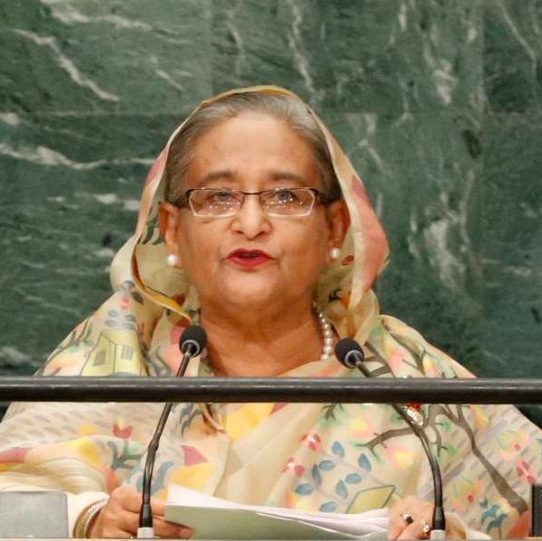 Bangladesh Prime Minister Sheikh Hasina. (File Photo: IANS) by .
