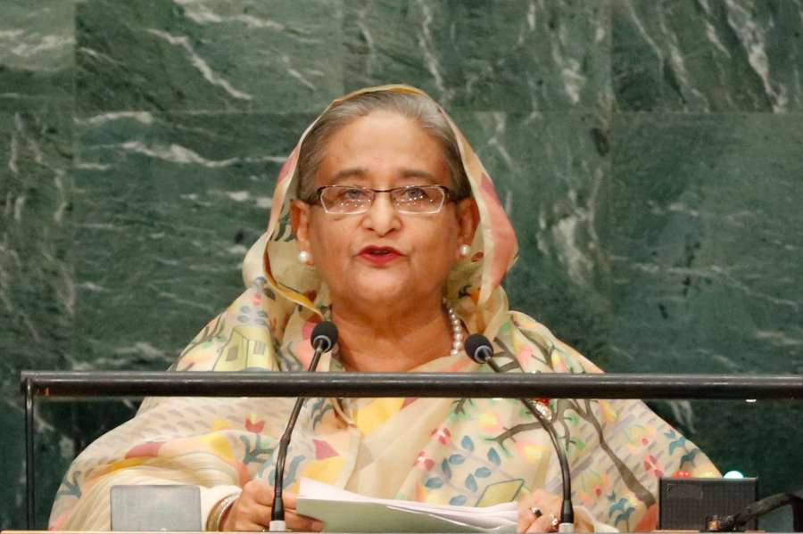 Bangladesh Prime Minister Sheikh Hasina. (File Photo: IANS) by .