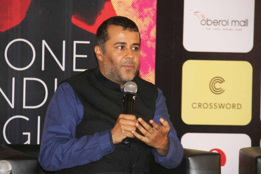 Mumbai: Author Chetan Bhagat during the launch of his book One Indian Girl in Mumbai, on Oct 1, 2016. (Photo: IANS) by .