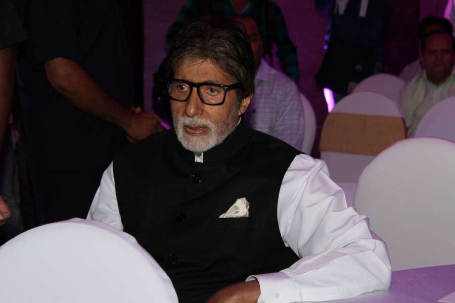 Mumbai: Actor Amitabh Bachchan during the launch of a mobile application 'ABC of Breast Health' in Mumbai on March 15, 2017. (Photo: IANS) by .