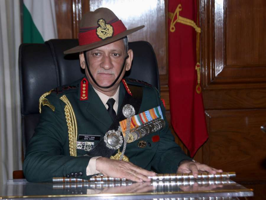 Chief of Army Staff Bipin Rawat.(File Photo: IANS) by .