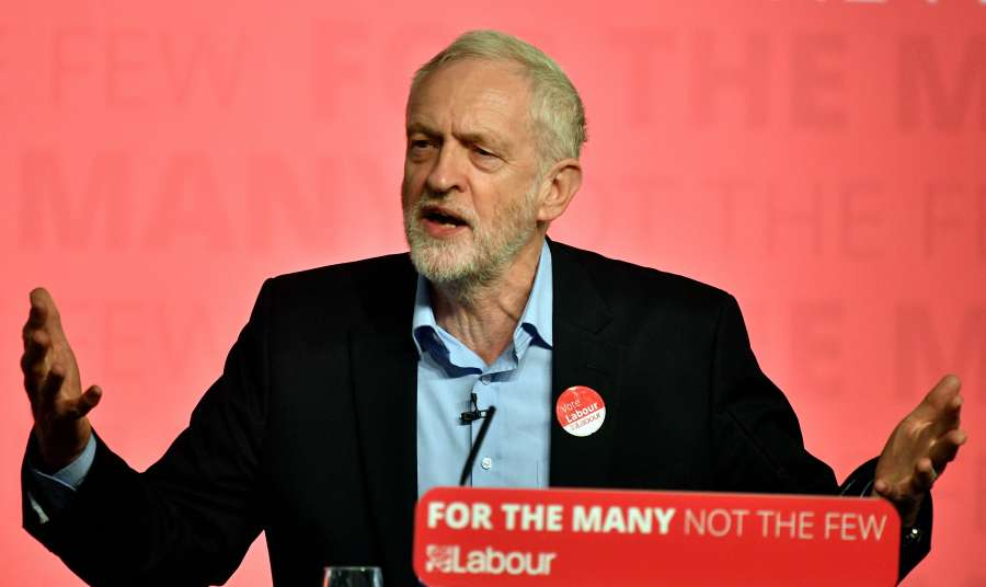 BRITAIN-LEICESTER-ELECTION-LABOUR PARTY-CAMPAIGN-JEREMY CORBYN by .