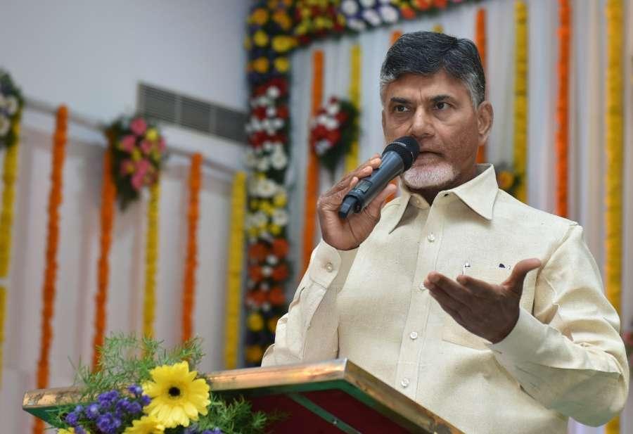 Andhra Pradesh Chief Minister N Chandrababu Naidu. (File Photo: IANS) by .