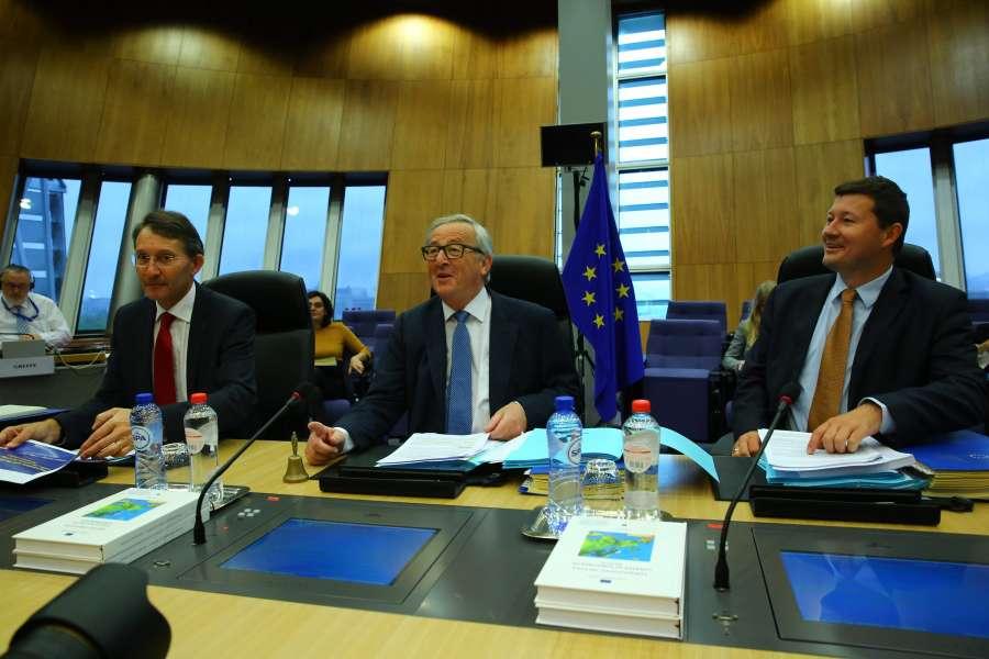 BELGIUM-BRUSSELS-EU-MEETING-BREXIT by .