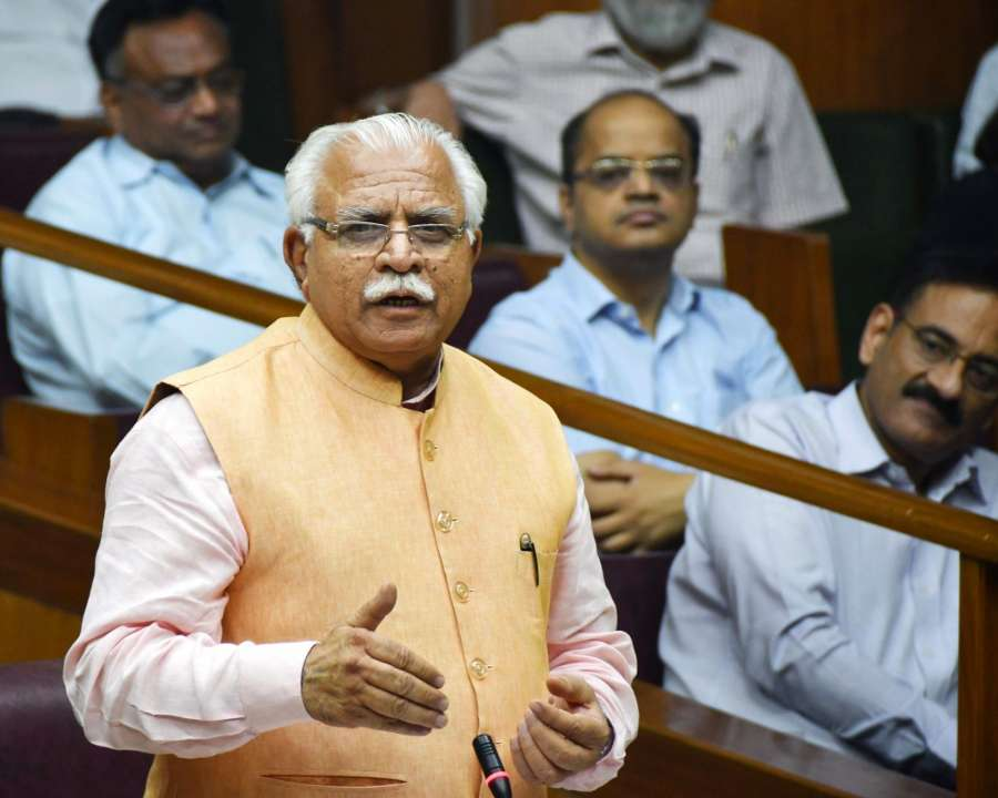 Manohar Lal Khattar. (File Photo: IANS) by .