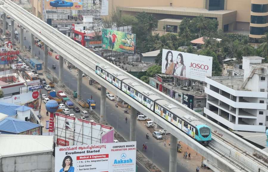 Kochi Metro. (File Photo: IANS) by .