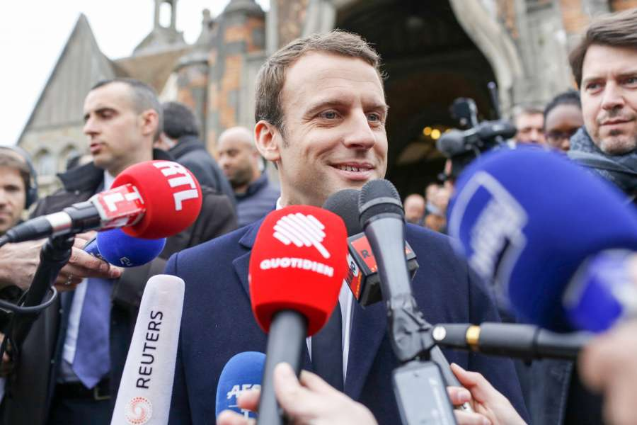 FRANCE-PRESIDENTIAL ELECTION-FIRST ROUND by .