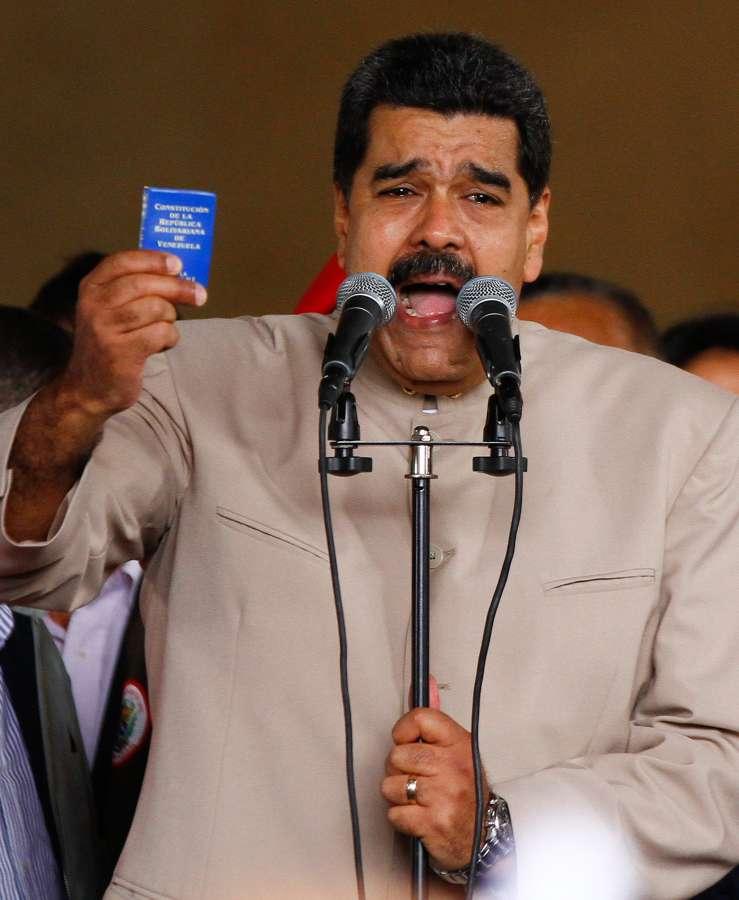 VENEZUELA-CARACAS-POLITICS-EVENT by .