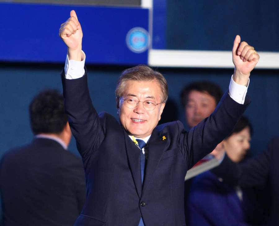 SOUTH KOREA-SEOUL-PRESIDENTIAL ELECTION-MOON JAE-IN by .