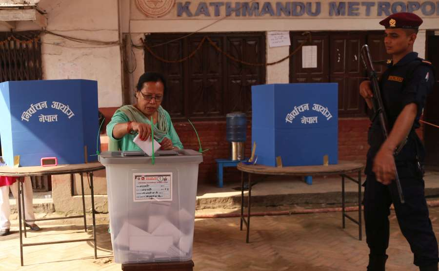 NEPAL-KATHMANDU-LOCAL ELECTIONS by .