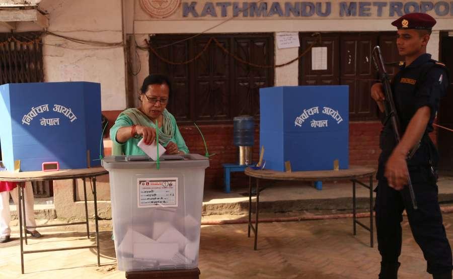 NEPAL-KATHMANDU-LOCAL ELECTIONS by .
