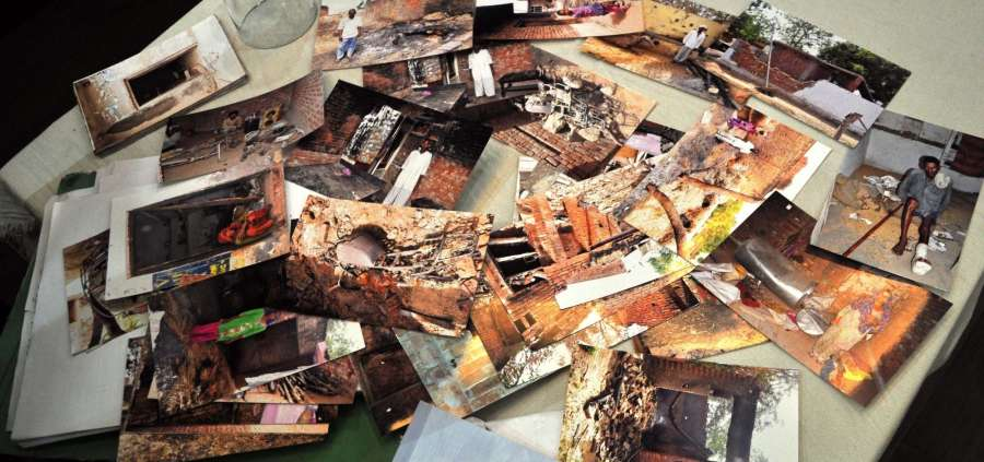 A collage of pictures of Saharanpur violence. (File Photo: IANS) by .