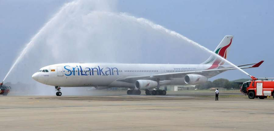 SriLankan Airlines. (File Photo: Xinhua/Ajith Perera/IANS) by .