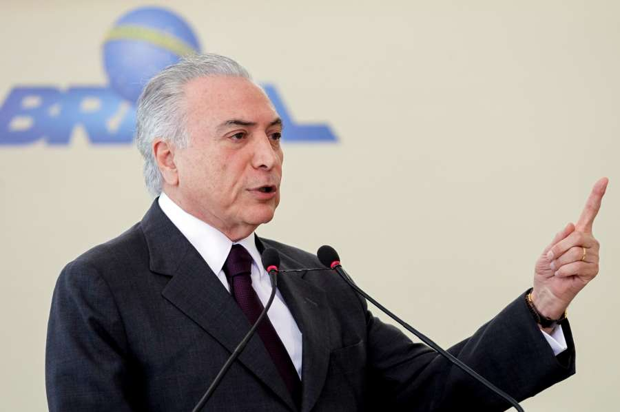 Brazil President Michel Temer. (File Photo: IANS) by .