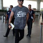 "Mumbai: Actor Sushant Singh Rajput travelling to Ahmedabad for the promotion of his upcoming film ""Raabta"".(Photo: IANS) by ."