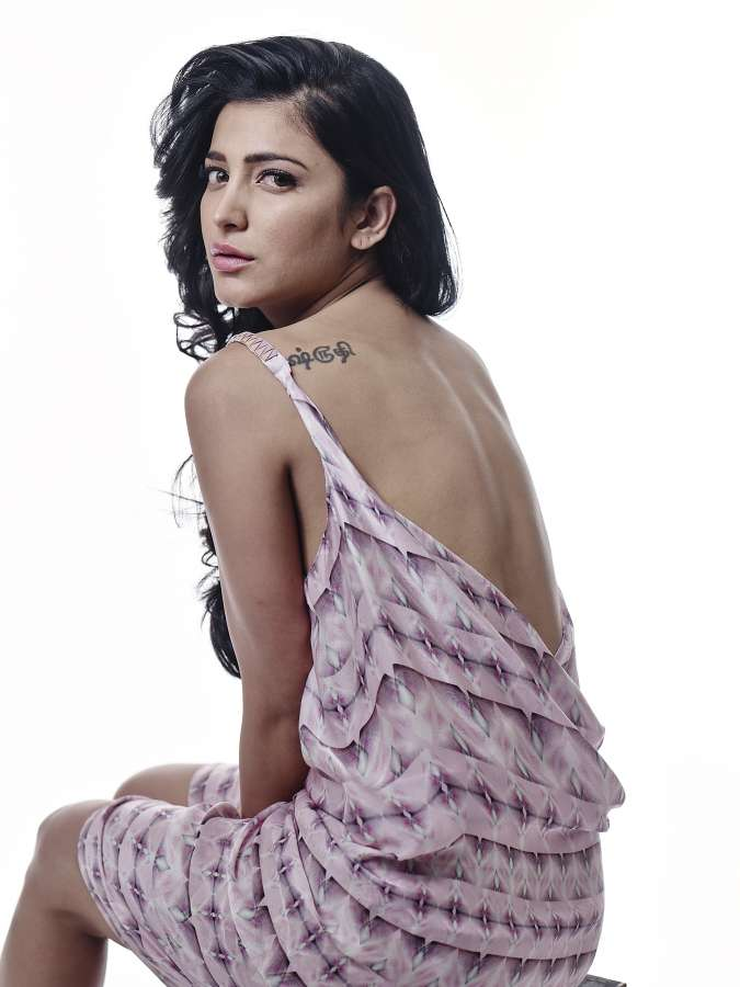 Hyderabad: Stills from Shruti Haasan launches her own Production. (Photo: IANS) by .