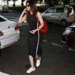 Mumbai: Actress Kriti Sanon spotted at airport. (Photo: IANS) by .