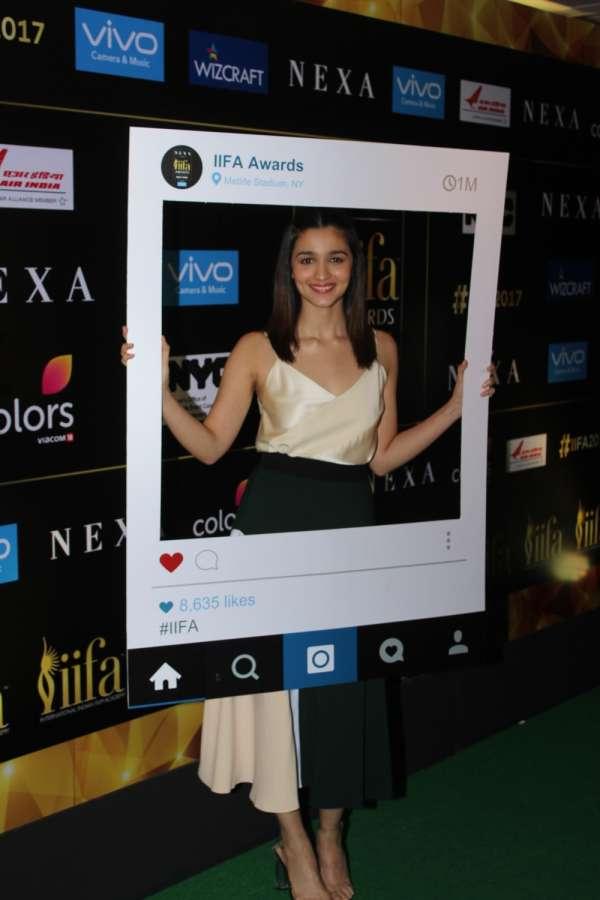 Mumbai: Actress Alia Bhatt during the press conference of 18th International Indian Film Academy (IIFA) awards in Mumbai on June 1, 2017. (Photo: IANS) by .