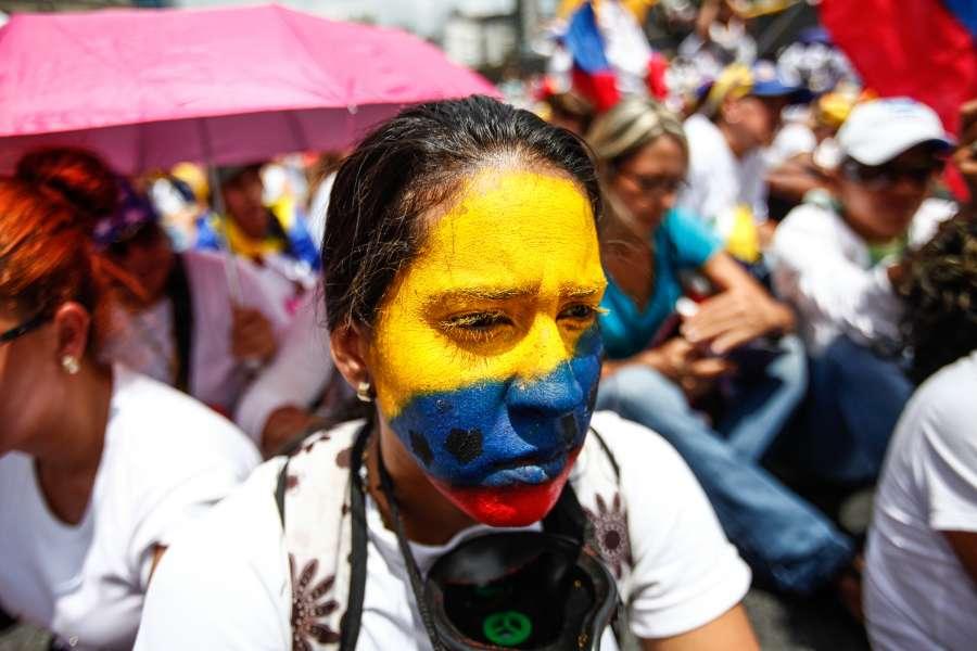 VENEZUELA-CARACAS-PROTEST by .