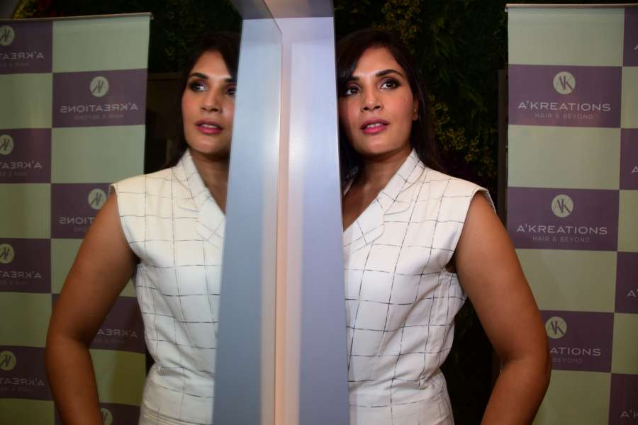 Mumbai: Actress Richa Chadda during a programme in Mumbai on June 9, 2017. (Photo: IANS) by .