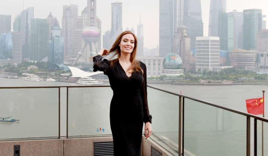 Actress Angelina Jolie. (File Photo: IANS) by .