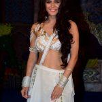 "Mumbai: Actress Madhurima Tuli during launch of serial ""Chandrakanta"" in Mumbai, on June 14, 2017. (Photo: IANS) by ."