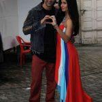 "Mumbai: Actors Ranbir Kapoor and Katrina Kaif during the promotion of film ""jagga Jasoos"" at Mehboob Studio, in Mumbai on June 13, 2017. (Photo: IANS) by ."
