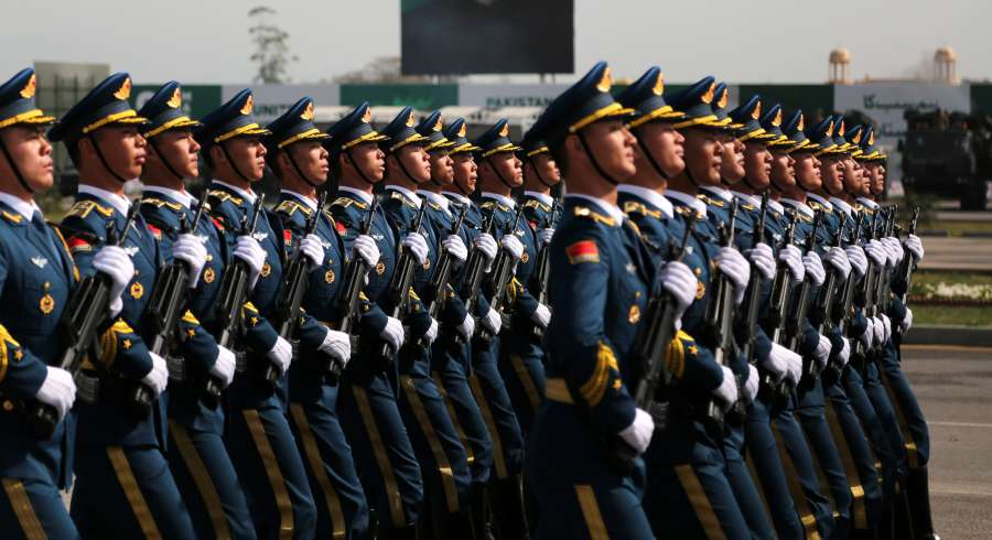 PAKISTAN-ISLAMABAD-REPUBLIC DAY-PARADE-CHINA-PLA by .
