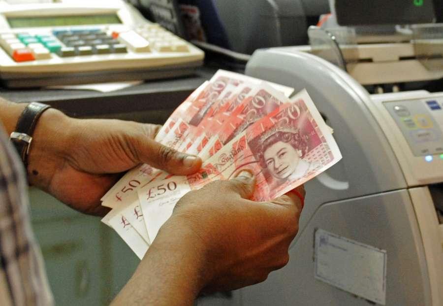 British pound. (File: Xinhua/Then Chih Wey/IANS) by .