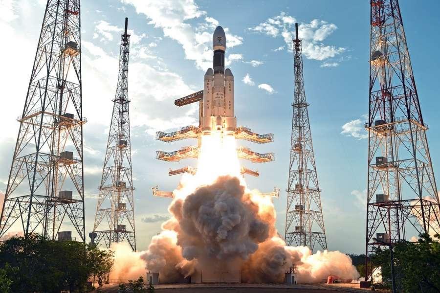 Sriharikota: India's brand new and heaviest rocket - the Geosynchronous Satellite Launch Vehicle-Mark III (GSLV-Mk III) - with the 3,136 kg communication satellite GSAT-19 on board blasts off from the Sriharikota spaceport on June 5, 2017. (Photo: IANS/ISRO) by .