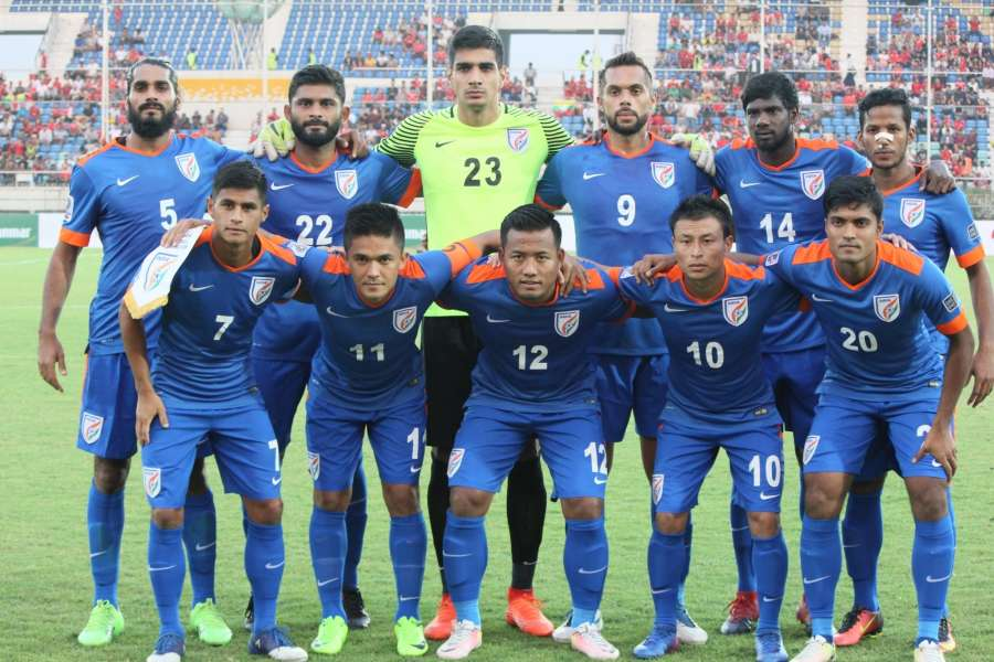 Indian football team. (File Photo: IANS) by .