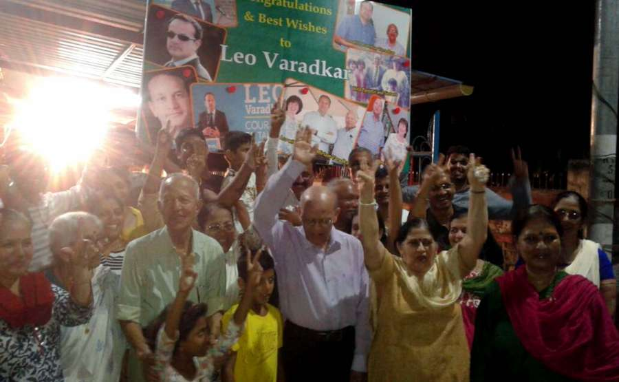 Mumbai: New Irish PM-elect Leo A. Varadkar's extended family in Mumbai celebrated his election to the top post, at their Borivali home, and also at their native village, Varad in Sindhudurg district of Konkan, near Goa border on June 2, 2017. (Photo: IANS) by .