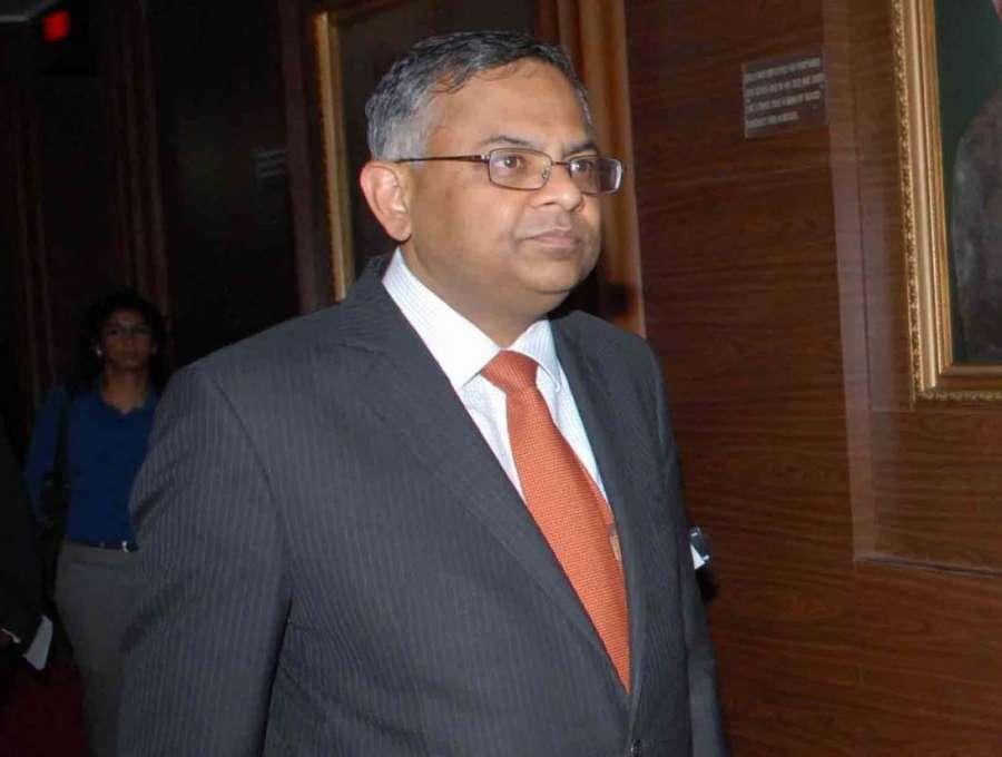 Natarajan Chandrasekaran. (File Photo: IANS) by .
