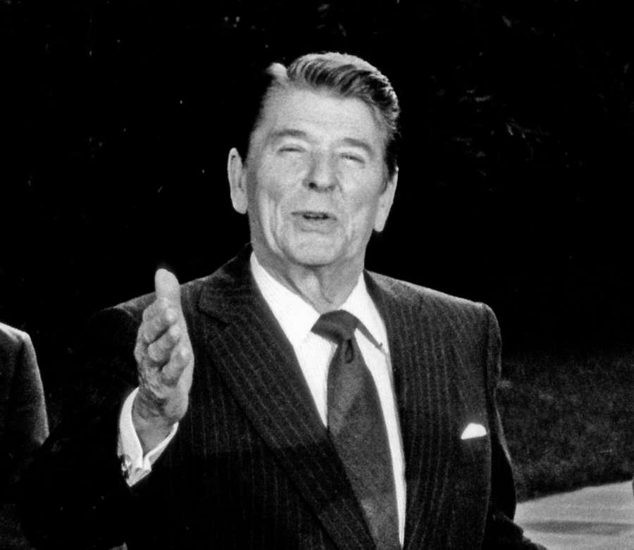 Former US President Ronald Reagan. (File Photo: IANS) by .