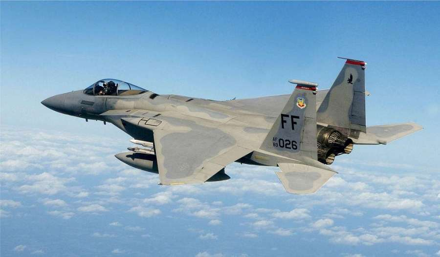 F-15 Fighter Jet of United States Air Force. (File Photo Courtesy: US Air Force) by .