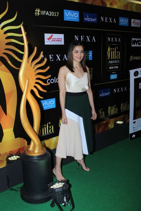 Mumbai: Actors Alia Bhatt during the press conference of 18th International Indian Film Academy (IIFA) awards in Mumbai on June 1, 2017. (Photo: IANS) by .