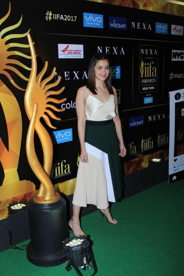 Mumbai: Actors Alia Bhatt during the press conference of 18th International Indian Film Academy (IIFA) awards in Mumbai on June 1, 2017. (Photo: IANS) by .