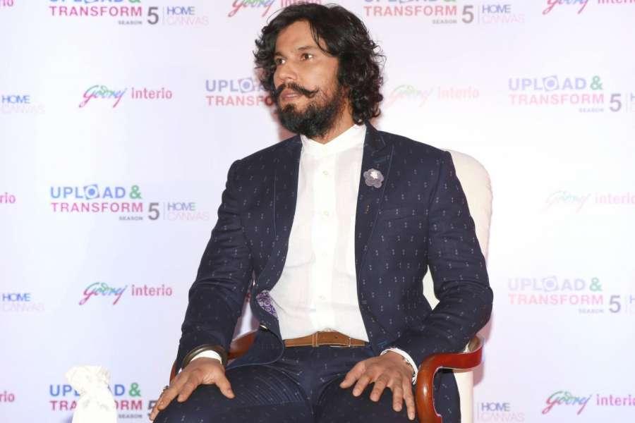 New Delhi: Actor Randeep Hooda at Godrej Inetrio event , in New Delhi , on February 15,2017.(Amlan Paliwal/IANS) by .
