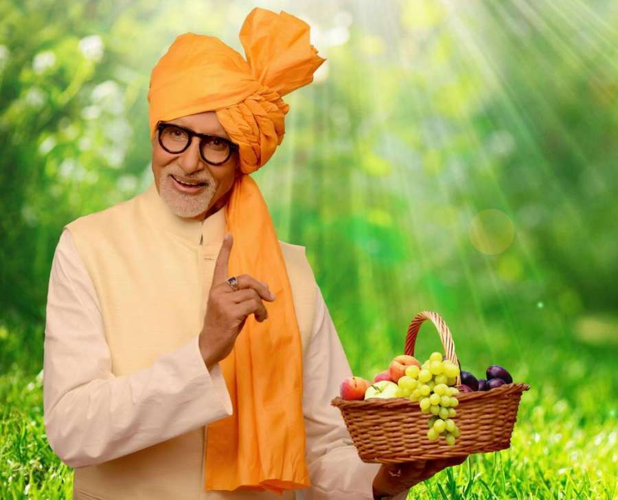 Actor Amitabh Bachchan who has been appointed as the horticulture ambassador of Maharashtra. (Photo: IANS) by .