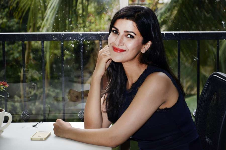 Actor Nimrat Kaur during the unveiling of cover of September - October issue of The Juice magazine for Jabong.com in Mumbai, on Sept. 18, 2014.(Photo: IANS) by .