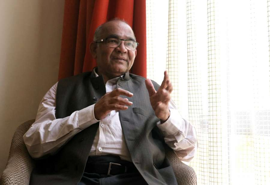 Former Reserve Bank of India (RBI) Governor YV Reddy during an interview with IANS. (Photo: Bidesh Manna/IANS) by .
