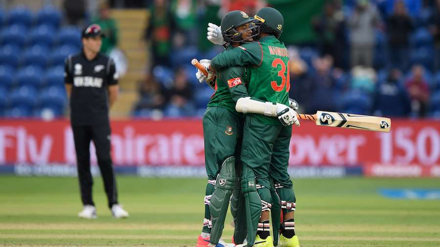 New Zealand v Bangladesh - ICC Champions Trophy by .