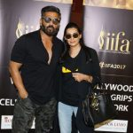 New York: Actor Suniel Shetty along with his wife Mana Shetty in New York for IIFA Awards, on July 12, 2017. (Photo: IANS) by .
