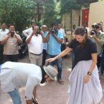 Mumbai: Actors Ranveer Singh and Neha Dhupia during the recording #nofilterneha in Mumbai on July 9, 2017. (Photo: IANS) by .