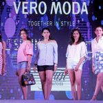 Models during a fashion show at a Bengaluru shopping mall, on June 23, 2017. (Photo: IANS) by .
