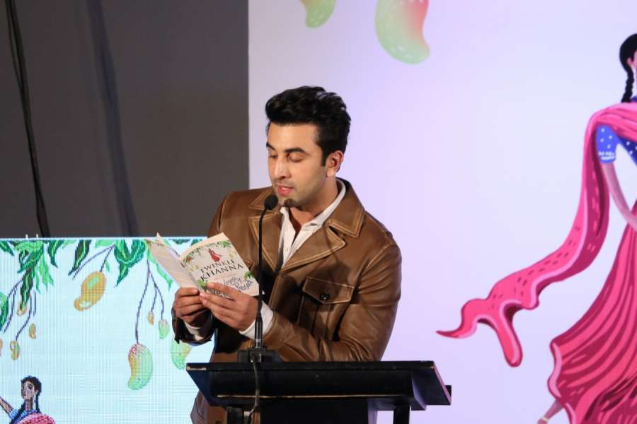Mumbai: Actor Ranbir Kapoor during the launch of book, The Legend of Lakshmi Prasad, a collection of four short stories by author Twinkle Khanna, in Mumbai, on Nov 15, 2016. (Photo: IANS) by .