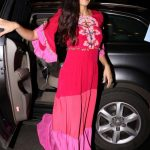 Mumbai: Actress Katrina Kaif leaves for New York to attend IIFA 2017 from Mumbai on July 12, 2017. (Photo: IANS) by .