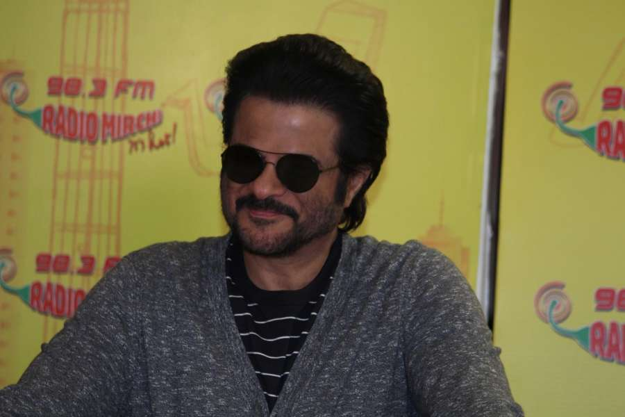 Actor Anil Kapoor during the song launch
