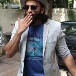 Mumbai: Actor Ranveer Singh during the recording #nofilterneha in Mumbai on July 9, 2017. (Photo: IANS) by .